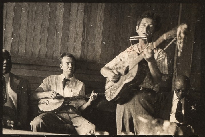 Pete Seeger e Woody Guthrie