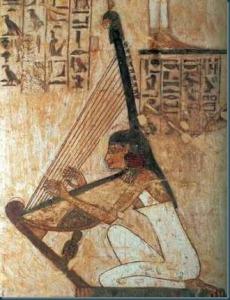 arpista egiziana