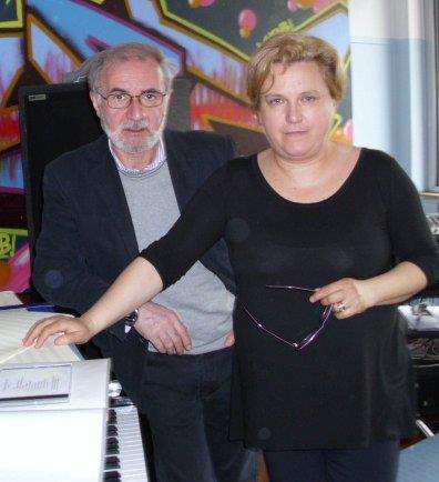 Gerardo Tarallo e Paola Bertassi