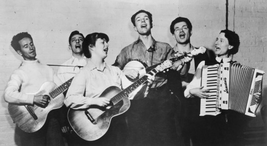 Almanac Singers 1940 circa